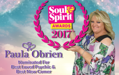 Paula Has Been Nominated For 2 Soul & Spirit Awards